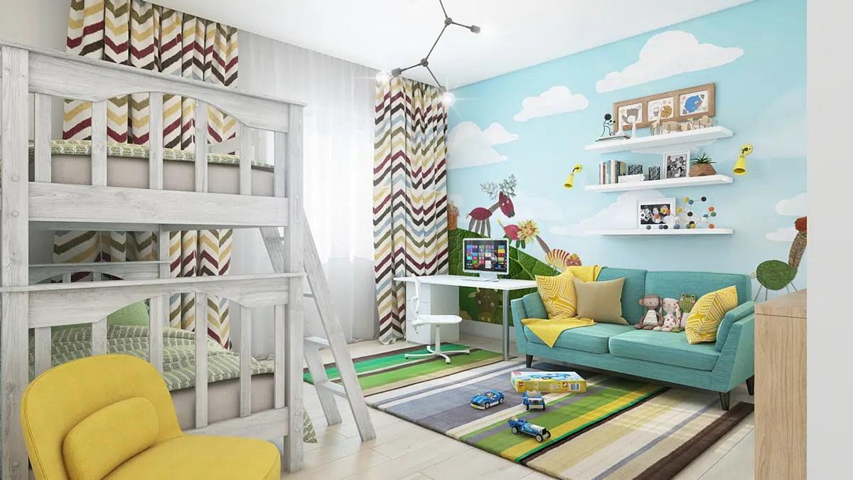 murs d une chambre d enfant