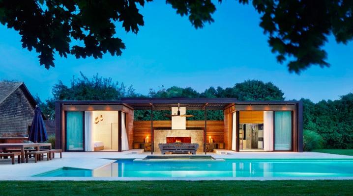 11 Ides Pour Intgrer Un Pool House Moderne Cot De
