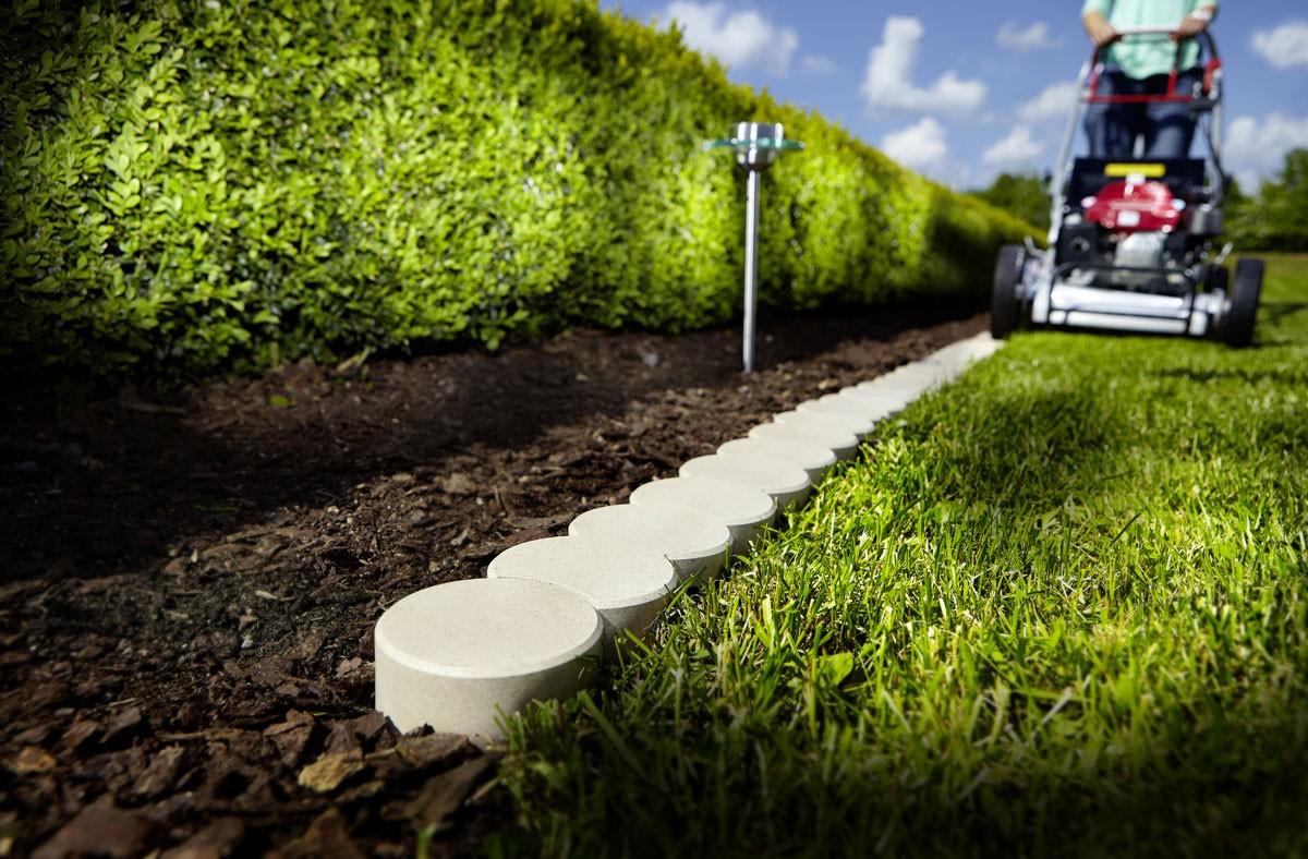 jardin en pvc bio beige 200 x 10 x 5 cm
