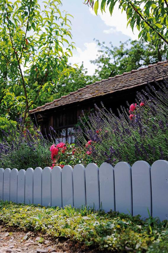 jardin en bois a planter 110 x 1 6 x 40 cm
