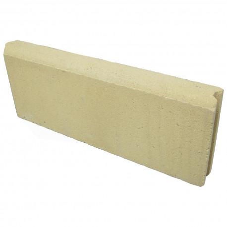 bordure de jardin en beton presse 50 x 5 x 20 sable