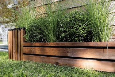 vos bordures de jardin en bois