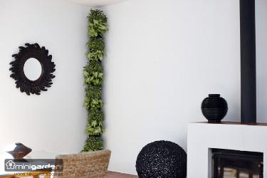jardinière en plastique coin de mur