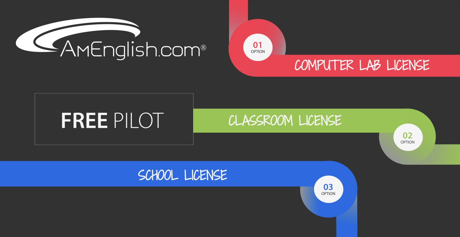 Licenses from AmEnglish.com