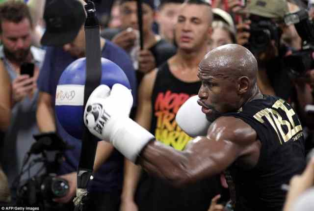 Mayweather warned McGregor is confidence will mean nothing