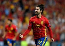 Isco scored for spain against Italy in February [www.AmenRadio.net]