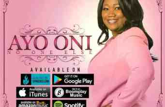 Gospel Music: I Will Sing- Ayo Oni | AmenRadio.net