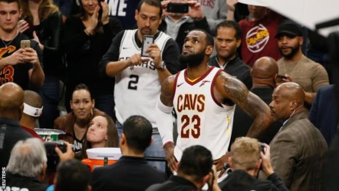 LeBron James has joined the NBA's 30,000-point club. [www.AmenRadio.net]