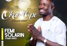 Gospel Music: Okan Ope - Femifunre | AmenRadio.net
