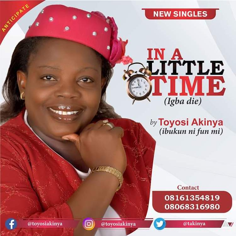 In A Little Time (Igba Die) - Toyosi Akinya