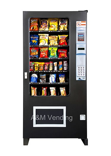 4 wide Snack opt - The AMS 35  Chilled Snack Machine
