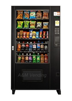 Ams 5W Reman Snack Drink Combo1 - Used AMS 39 Combo Vending Machine