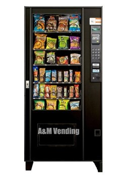 ams 35 Used Snack Machine - AMS 35 Snack Machine