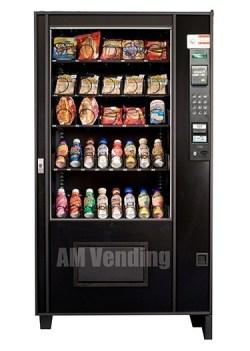 """ams 39 Used Bottle Food - Remanufactured AMS 39"""" Bottle - Food Vending Machine"""