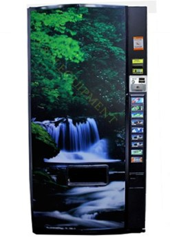 dixie narco501e used full sign drinkmachine e1484663654144 1 - Dixie Narco 501E Drink Machine
