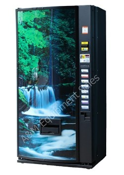 refurb Dixie Narco 368 Canned Drink Vending Machine - Dixie Narco 368 Drink Machine