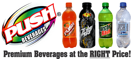 push logo bottles1 - A&M Equipment Sales Partners