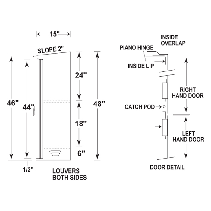 Recessed Fire Extinguisher Cabinet Mounting Height Www