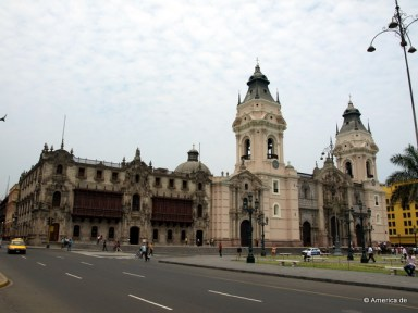 Die Kathedrale in Lima