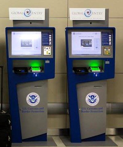 global entry automaten am flughafen in den usa