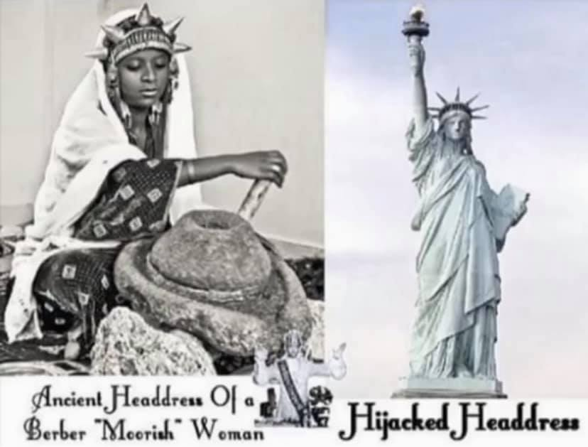 Moorish Headdress vs Statue of Liberty