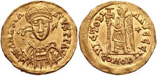 Coin of Merovingian King Clovis I