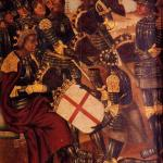 Old World painting of King Peter I of Aragon and Navarre