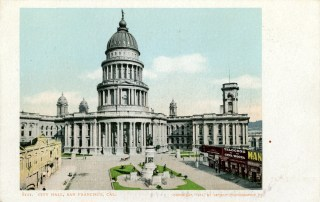 1901 image of San Francisco Bey City Hall