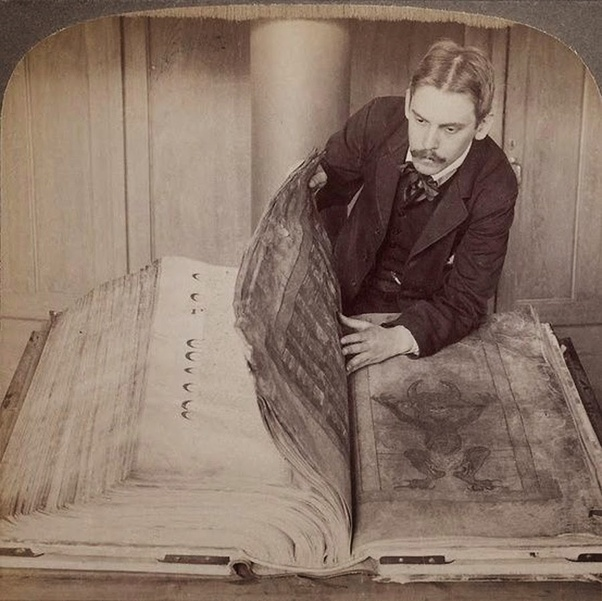 Old World Giant Book from Tartary