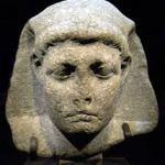 Bust of Queen Cleopatra Selene II of Mauritania