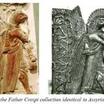 Assyrian figures from the Father Crespi Collection