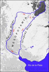 Map of Ancient Mesopotamia near Argentina