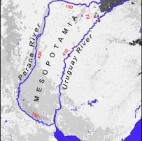 Map of Ancient Mesopotamia near Argentina