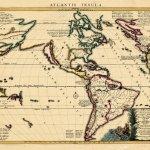 Map of the Atlantis Insula