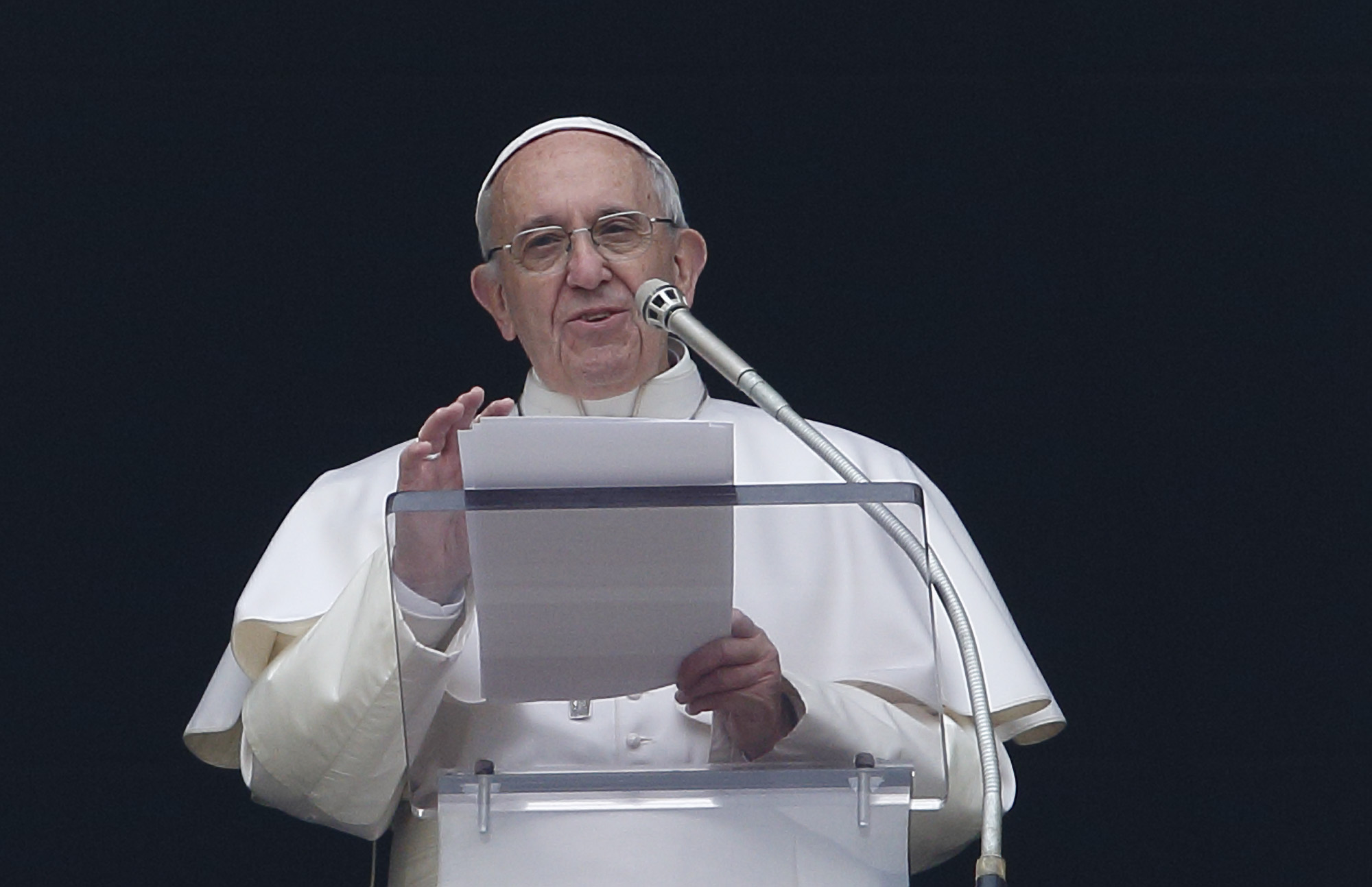 Image result for The Pope Instills Fear on the Most Joyful Day for Christianity