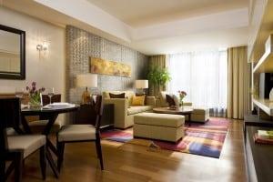 furnished interior apartment