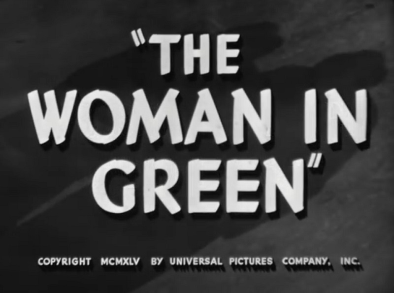 La Femme en Vert (The Woman in Green)