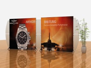 segue tension fabric displays