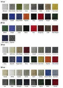 showstar expo carpet colour choices 2016
