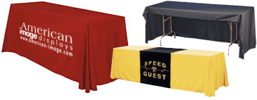 vinyl heat transfer table covers with logo