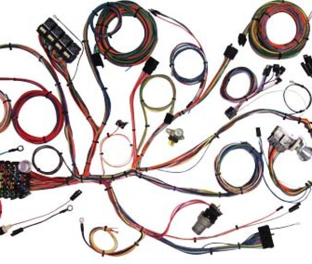 Complete Wiring American Mustang Parts World Greatest Ford Mustang Parts Store