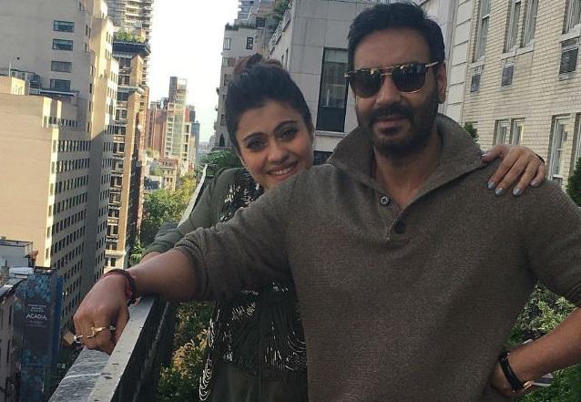 Ajay Devgn and Kajol (Courtesy of Instagram)