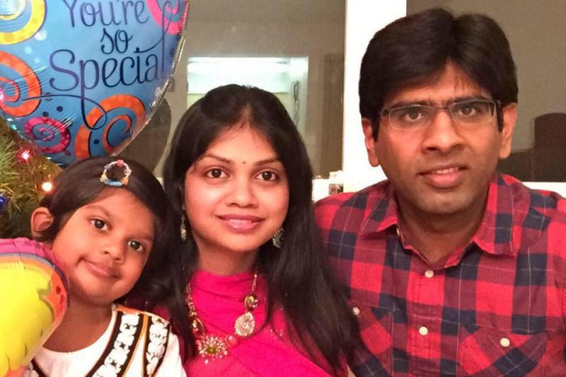 Madhukar and family