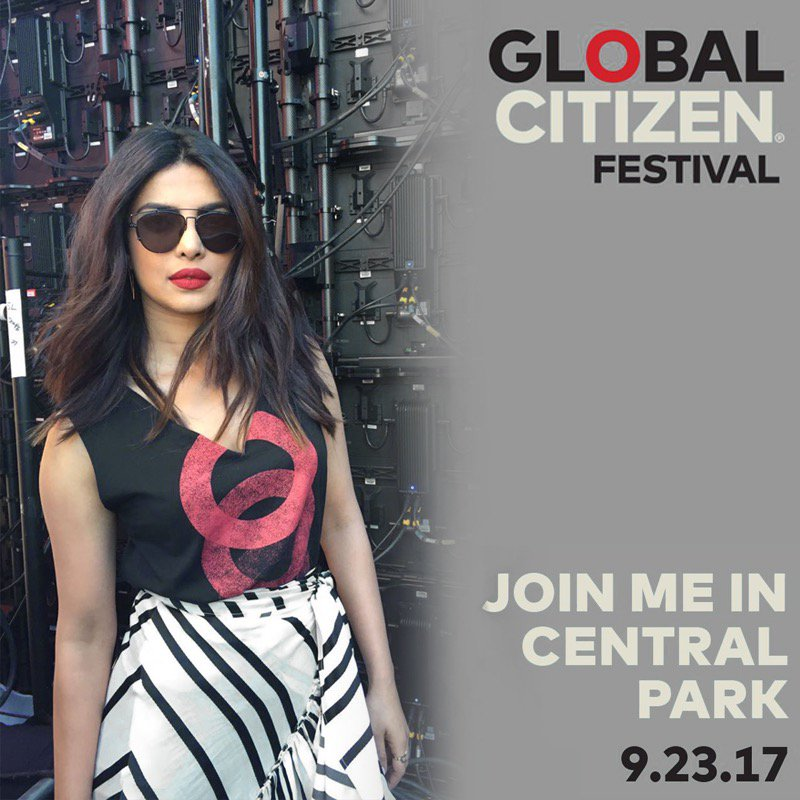 Priyanka Chopra Lights Up Global Citizen Festival. See Pics