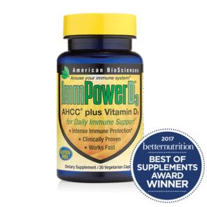 ImmPowerD3 Best Immune Support Winner