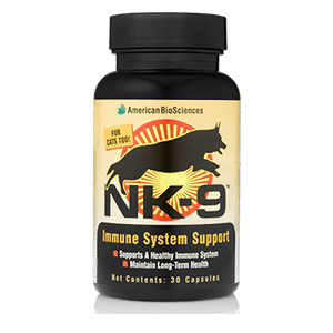 NK9 pet immune support