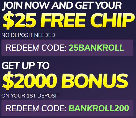Dreams Casino No Deposit Bonus $25 FREE