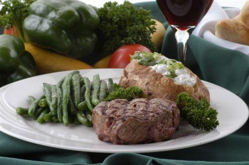 The $6.99 steak dinner at Ellis Island