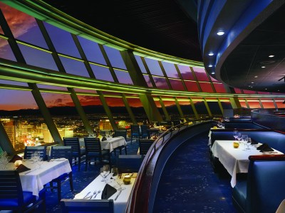A Look at The Top of The World Restaurant