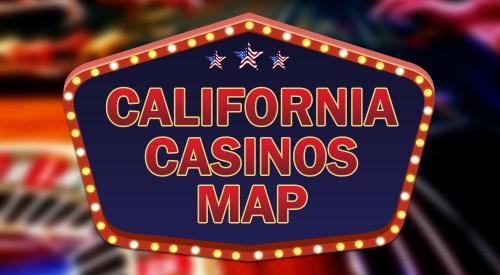 California casinos map